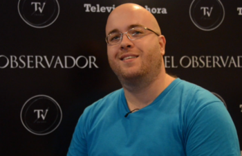 Frédéric Harper en entrevista con Cromo
