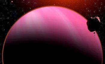 Interpretación artística del exoplaneta HAT-P-11b