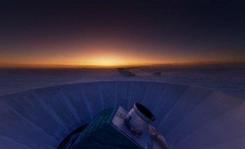 El telescopio BICEP2, en el Polo Sur