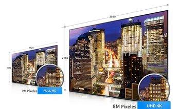 Samsung está reemplazando sus televisores full HD por los ultra HD, presentados en Uruguay hace un mes