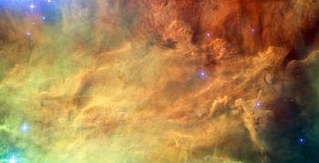Corazón de la Nebulosa de la Laguna, situada en la constelación de Sagitario