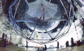El detector de neutrinos Super K, en Japón