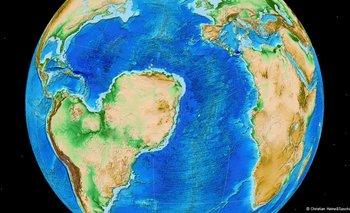 Así se vería América del Sur con el Sahara