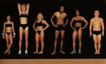 El fotógrafo Howard Schatz retrató a 125 atletas olímpicos para mostrar las diferencias en sus cuerpos según sus disciplinas