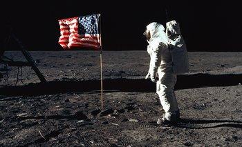 Mucha gente aún cree que imágenes como esta de Buzz Aldrin en la Luna fueron rodadas en un estudio de California