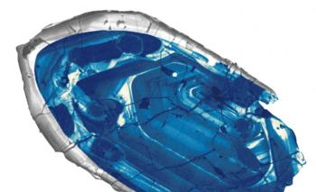 Este cristal de circón es considerado la pieza más antigua del planeta Tierra