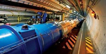 El LHC es el colisionador de partículas más grande y potente del mundo hasta el momento