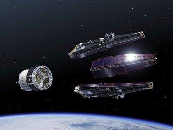 La misión será la primera que pruebe a poner tres satélites en órbita de forma simultánea