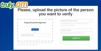 Truly.am permite verificar que alguien es quien dice ser en la web; basta con subir una foto al sitio y esperar