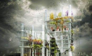 La propuesta consiste en reutilizar dos rascacielos en Seúl para que sean una granja vertical y un jardín botánico