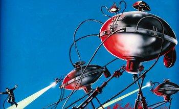 """Los invasores de """"La guerra de los mundos"""", la novela de 1989 de H. G. Wells, son quizá los marcianos más famosos, representados en el cine, televisión, comics y, por supuesto, en el famoso programa de radio de Orson Welles."""