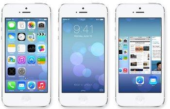 El nuevo sistema operativo de Apple iOS 7 apuesta a la simpleza en el rediseño