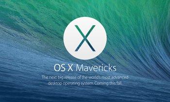 La nueva versión del sistema operativo se llama OS X Mavericks, rompiendo con la tradición de los nombres de gatos, bromearon en la conferencia