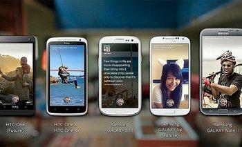 Facebook Home se podrá descargar para estos smartphones en u primer momento, además de estar preinstalado en el HTC First que se lanzará el 12 de abril