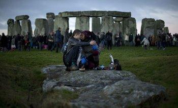 El antiguo círculo de piedras Stonehenge, en el sur de Inglaterra