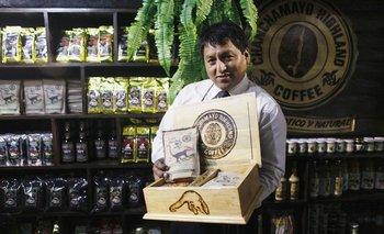 José Jorge Durand y su exótico café