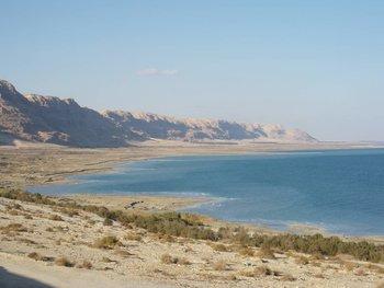El Mar Muerto tenía 75 kilómetros de largo hace 50 años y 55 kilómetros en la actualidad
