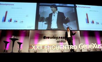 El CEO de GeneXus, Nicolás Jodal.