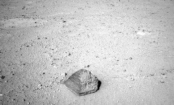 La roca Matijevic, en Marte