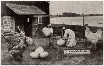 """Temprano en la mañana en la granja"", 1909"