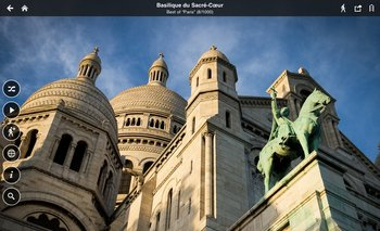 Fotopedia Patrimonio Mundial ofrece más de 25.000 imágenes en alta resolución de monumentos y lugares declarados patrimonio de la humanidad, como la Basílica del Sacré-Coeur, en París
