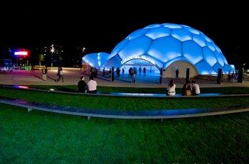 La Cúpula del Milenio, en Valladolid, es la sede del evento