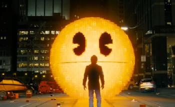 Pac-man es uno de los villanos de la nueva película