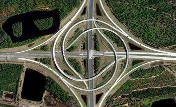 Una autopista en Jacksonville, Florida (EEUU)<br>