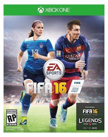 <div>Mujeres en tapa: el videojuego FIFA