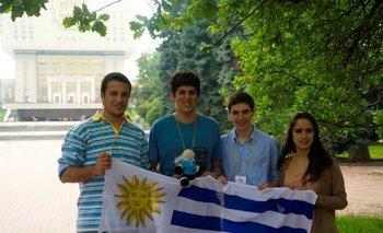 Los cuatro estudiantes uruguayos que participarán de WSCI ya compitieron en dos olimpíadas de química