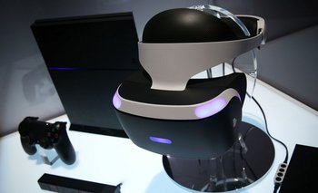 Sony exhibe su visor de realidad virtual, el PlayStation VR, que funcionará con el PlayStation 4