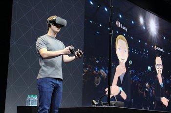 Mark Zuckerberg presenta nuevas gafas de realidad virtual