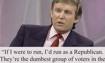Uno de los memes virales sobre Trump que resultó falso