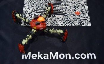 Mekamon es el primer robot inteligente para juegos del mundo, fabricado por Reach Robotics