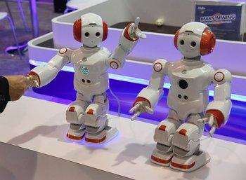 El robot educativo Abilix Everest 5 en la CES 2017