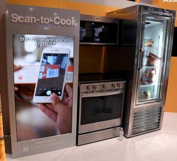 La tecnología Scan-to-Cook de Whirlpool en exhibición en la CES 2017