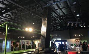 El joystick de 3,5 metros