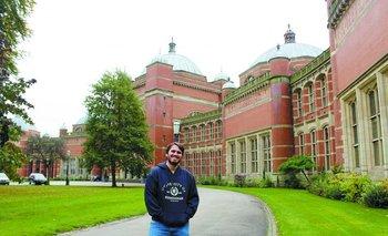 Ignacio Rocca en laUniversity of Birmingham, Reino Unido
