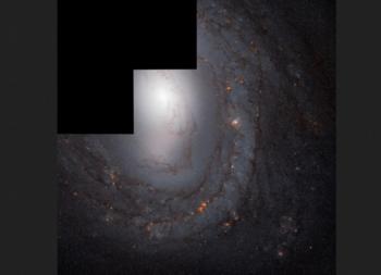 M58 es una de las galaxias más brillantes en la constelación de Virgo