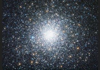 Esta bella imagen presenta el cúmulo estelar globular M75<p></p>