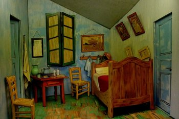 El dormitorio en Arlés, 1888