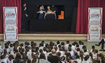 Escuela Naciones Unidas en el evento de presentación del concurso